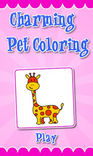 Coloring Charming Pet