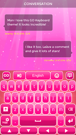 無料个人化AppのPink Keyboard 記事Game