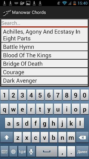 Megadeth Lyrics and Chords