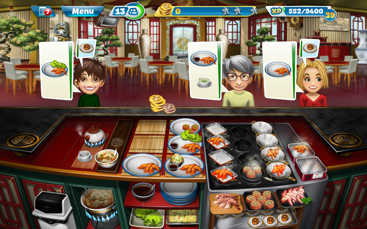 Chinese Food Cooking Games Free Online