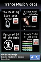 Screenshot of Trance Music Videos