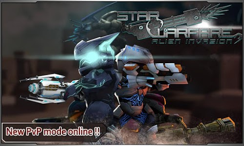 Star Warfare:Alien Invasion HD v2.94 (Mod Gold/Mithril)