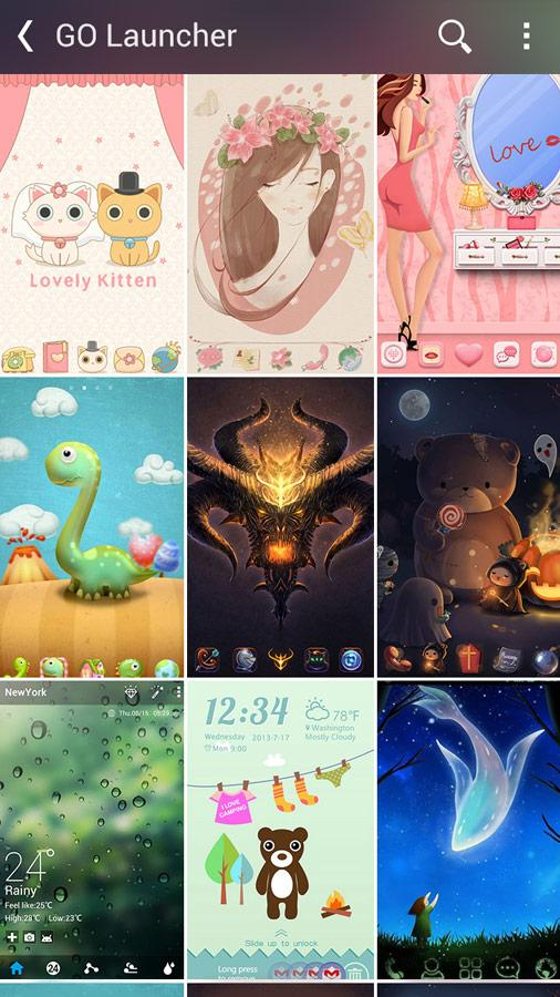 Kitty Play - Theme & Iconpack- screenshot