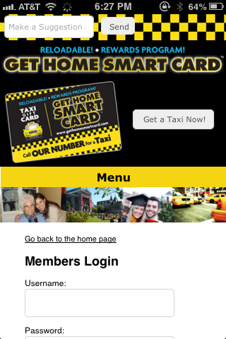 Get Home Smart Card