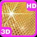 Amazing Golden Disco Ball 3D icon