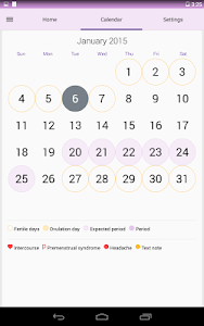 Period & Ovulation Tracker v1.7