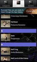 Screenshot of Yoga-pedia