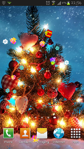 Heart Christmas Tree LWP