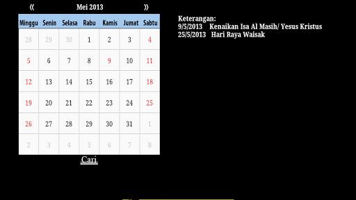 Kalender Nasional Liburan