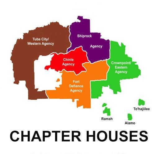 Navajo Chapter Houses: Phones
