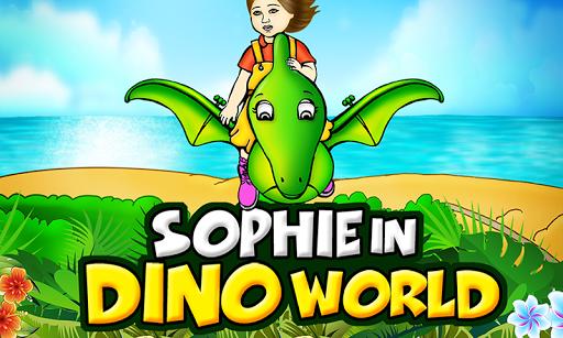 Sophie in DinoWorld