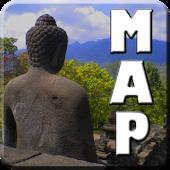 Borobudur Surroundings Map