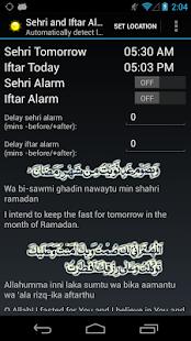 Sehri and Iftar Alarm - screenshot thumbnail পবিত্র রমজান মাসের জন্য ১০টি গুরুত্বপূর্ণ Android Apps ও বিস্তারিত!
