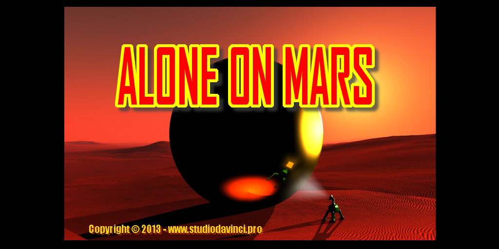 Alone On Mars - screenshot