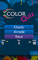 Screenshot of The Impossible Color Quiz