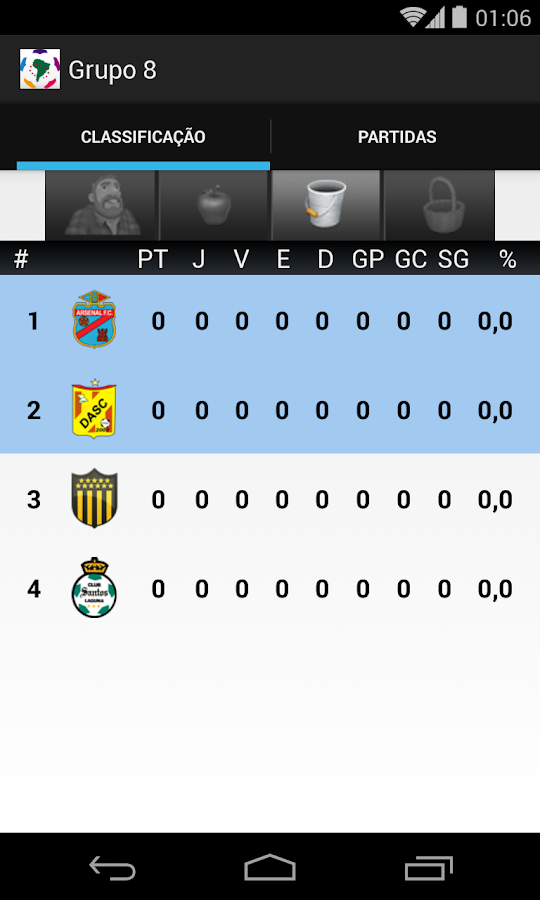 Libertadores 2014 - screenshot