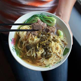 Hong Shao Niu Rou Mian (Taiwanese Beef Noodle Soup).