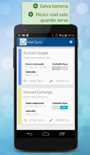 Mail Sync