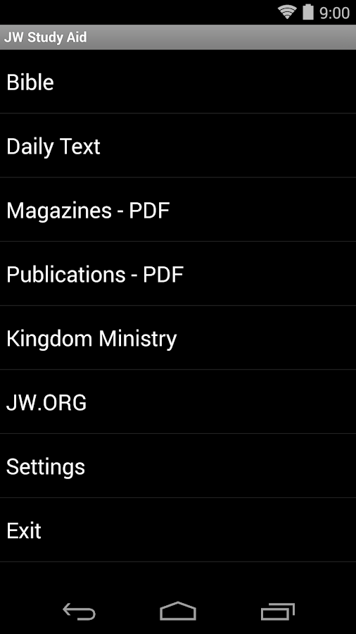 JW Study Aid - screenshot