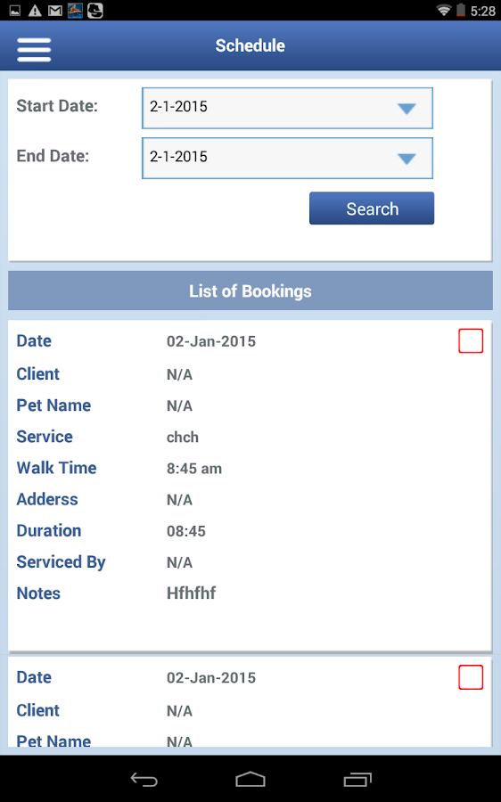 Pet Sitting & Dog Walking App- screenshot