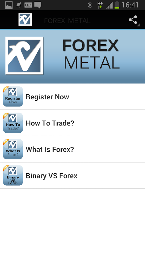 Forex Metal - screenshot