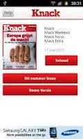 Screenshot of Knack