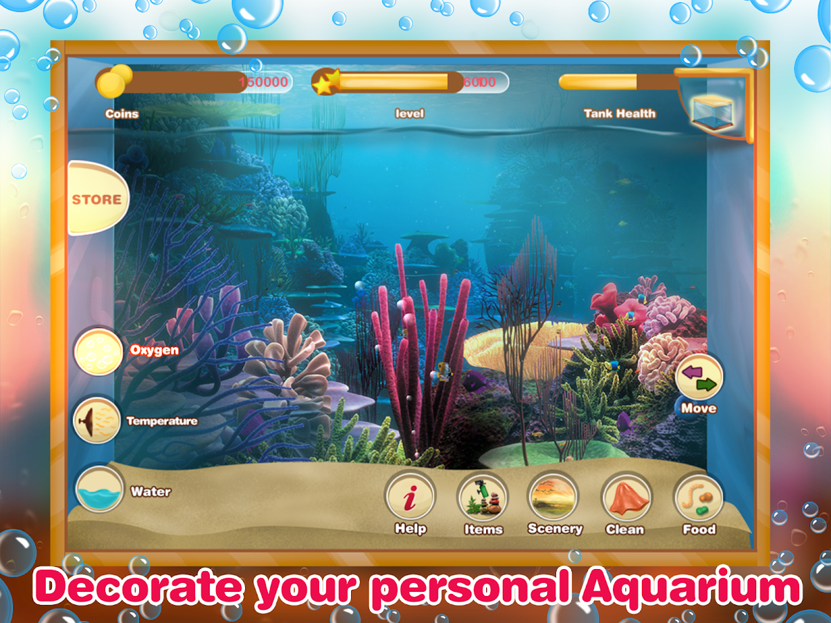 Fish tank games for android fish tank management game for Fish tank game