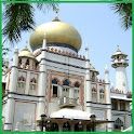 Mosque in Singapore logo