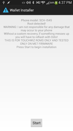 Verizon GS4 Wallet Installer