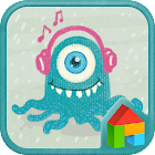 Monster Dodol Theme icon