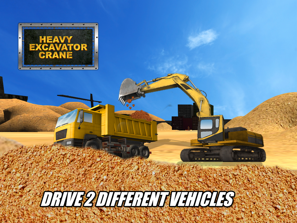 Heavy Excavator Crane Sim Android Apps On Google Play