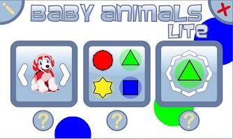 Screenshot of Baby Animals Lite