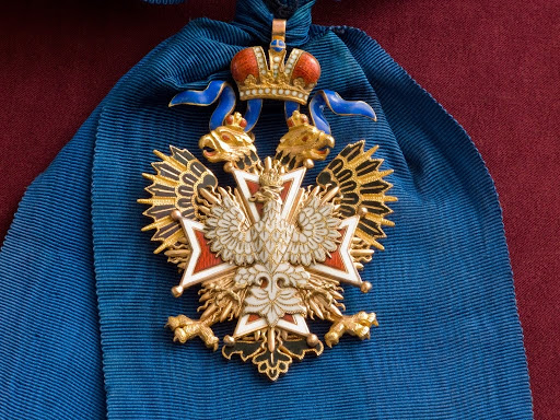 Badge of the Order of the White Eagle, Russia