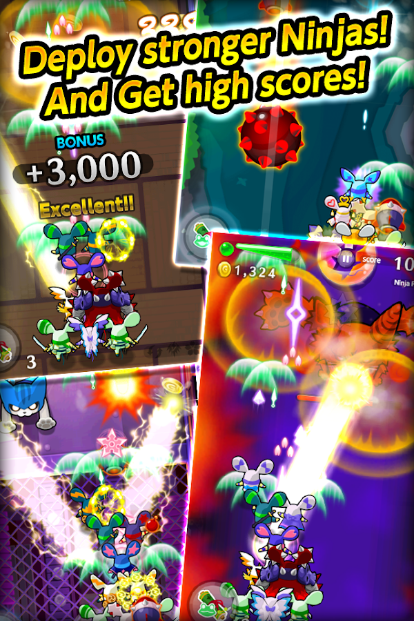 LINE Ninja Strikers- screenshot