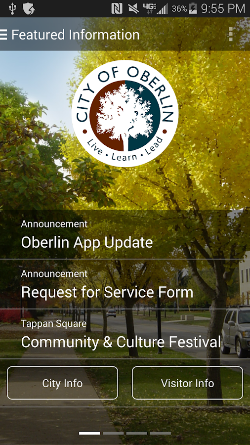 The Official App of Oberlin OH- screenshot