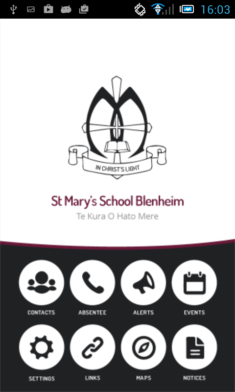 St Mary's School Blenheim- screenshot