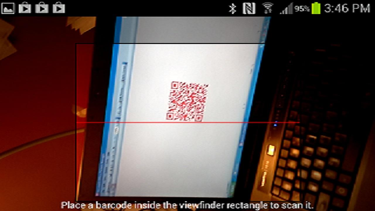 Screenshots of iVerify 2D Codes for iPhone