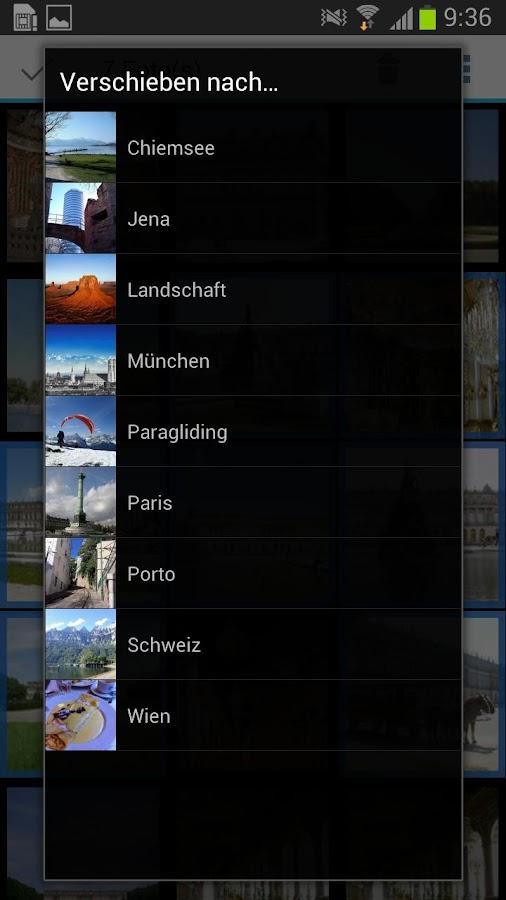 WEB.DE Fotoalbum - screenshot