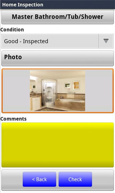 Home Inspection Checklist - screenshot