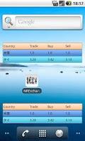 Screenshot of Simpe Exchange rate