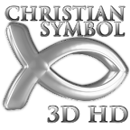 Christian Fish 3D Wallpaper