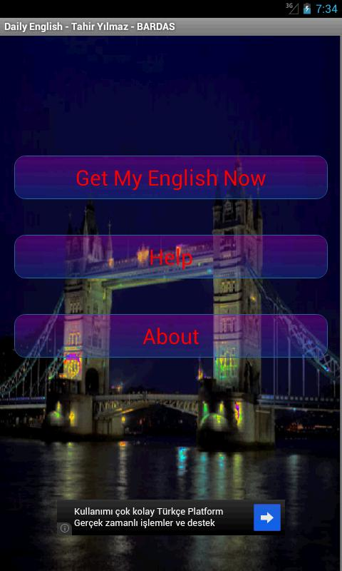 Daily English - screenshot