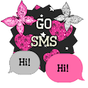GO SMS - Cute Butterfly 9 icon