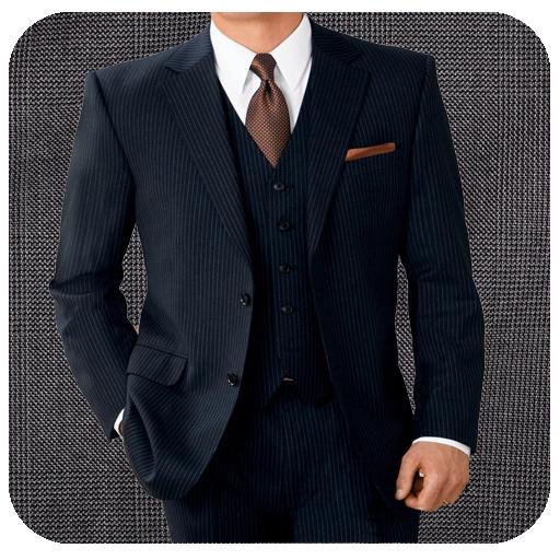 时尚男人西装图片编辑器 個人化 App LOGO-APP試玩