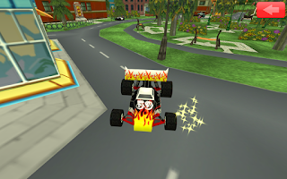 Screenshot of Animated Toddler Puzzles: Cars