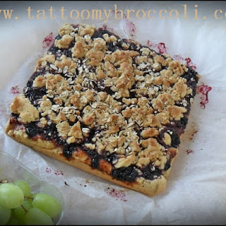 Blackcurrant Jam Cake
