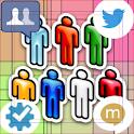 All SNSchecker(twitter,fb,etc) logo