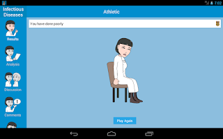 Screenshot of Prognosis : Infectious Disease