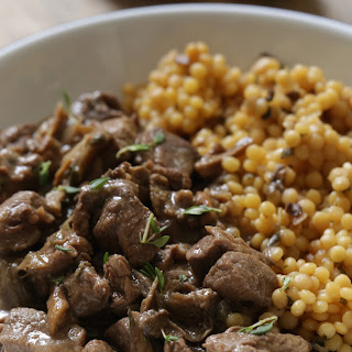 BEEF STEW with DRIED PORCINI MUSHROOMS and WHITE WIN Recipe