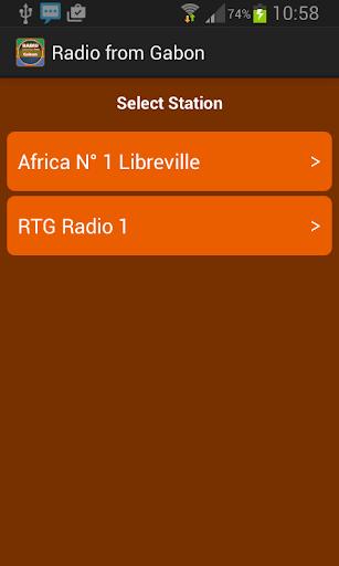 Radio from Gabon